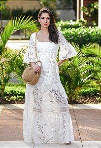 Vestido Longo de Lese Amissima - Off White