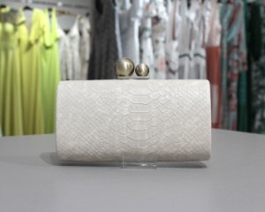 Clutch Isla Bolsas - Off White