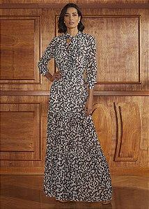 Vestido Longo Agilità - Estampado