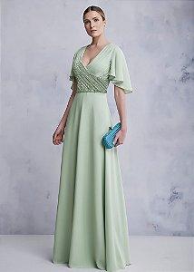 Vestido Longo Kalandra - Verde