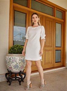 Vestido Chemise Básico - Liso
