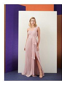 Vestido Longo Sophia Liso - Maracujá Brand