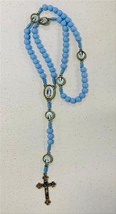 Terço de Nossa Senhora das Graças| Azul - Hesed (8308)