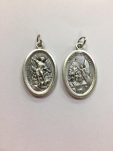 Medalha Italiana São Miguel / Anjo da Guarda (8327)
