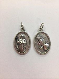 Medalha Italiana São Thomas / Mãos (8327)