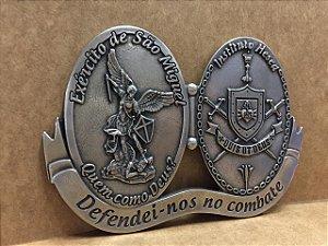 Adorno de Porta - Exército de São Miguel / Hesed Níquel (8359)