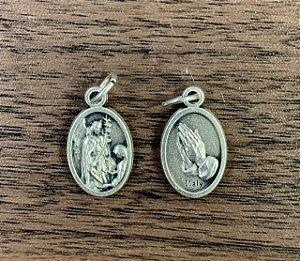 Medalha Italiana São Gabriel / Mãos (8327)