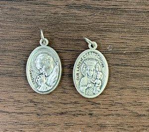 Medalha Italiana São João Paulo II / N. Sra. Czestochowa (8327)