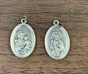 Medalha Italiana São José / São Judas Tadeu (8327)
