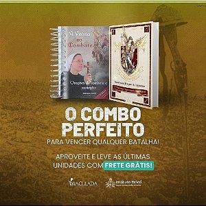 2º Kit Especial São Miguel: 01 Livro Poderosa Quaresma de São Miguel + 01 Livro Vitória no Combate