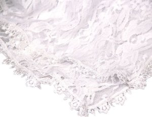 Véu Santa Missa branco -7291