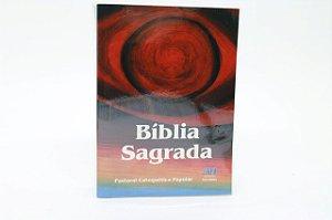 Bíblia Sagrada Ave-Maria Pastoral Catequética Popular Média (2026)