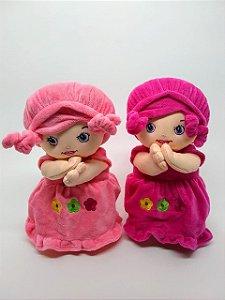 Boneca pelúcia - reza o pai nosso