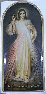 Adesivo resinado Jesus Misericordioso (8033)