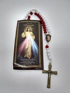 Terço Jesus Misericordioso com folheto (5386)
