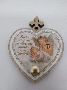 Porta terço coração - Santo Anjo da Guarda (7222)