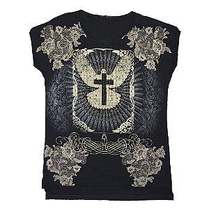 Camiseta Babylook Espírito Santo