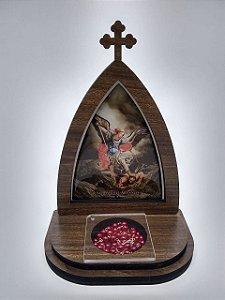 Capela com porta terço - São Miguel