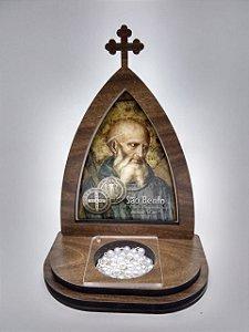 Capela com porta terço - São Bento (8282)