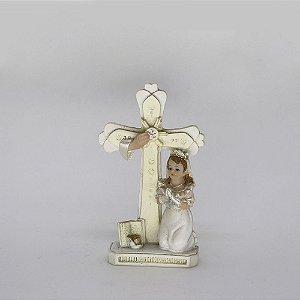 Lembrança 1ª Eucaristia Menina 10 cm (0451)