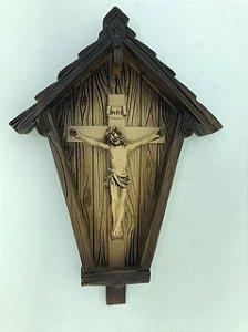 Capela com Crucifixo 19,8 cm (7634)