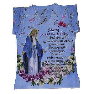 Camiseta babylook Maria passa na frente