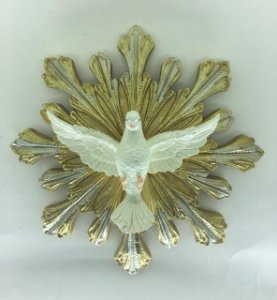 Espírito Santo resina de parede 19,5 cm (7335)