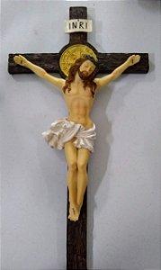 Cruz de parede resina 53,3 cm (8084)