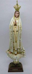 Nossa Senhora de Fátima de Portugal fibra 44 cm (3617)