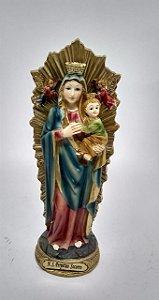 Nossa Senhora do Perpetuo Socorro resina 20 cm (3771)