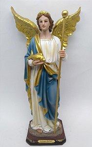 São Rafael Arcanjo resina 40 cm (7361)