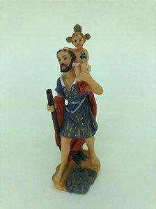 São Cristovão resina 10 cm (A0764)