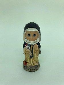 Santa Edwiges bebe resina 10 cm (A2185)