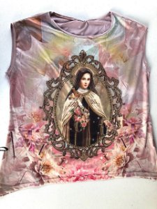 Camiseta Santa Teresinha