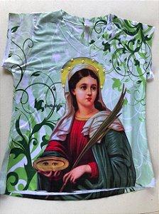 Camiseta babylook Santa Luzia