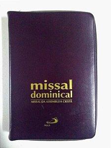 Missal Dominical - Missal da Assembléia Cristã - Edição zíper