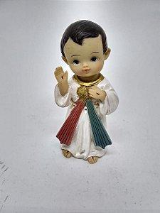 Jesus Misericordioso bebe resina 10 cm