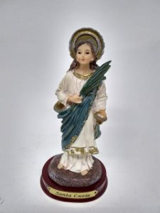 Santa Luzia resina 13 cm