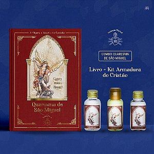 Combo 6: Livro Quaresma de São Miguel + Kit Armadura do Cristão
