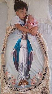 Manto de Nossa Senhora | Exército de São Miguel |Médio (0,70 x 0,97) - Instituto Hesed