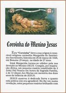 Folheto Coroinha do Menino Jesus (0160)