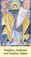 Folheto Súplica Ardente aos Santos Anjos (2367)