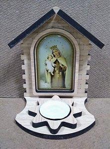 Luminária presépio - Nossa Senhora do Carmo (8164)