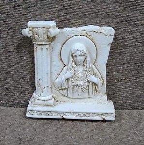 Lembrança 6cm resina - Imaculado Coração de Maria (6812)