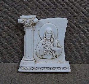 Lembrança 6cm resina - Sagrado Coração de Jesus (6812)