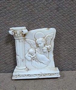 Lembrança 6cm resina - Santo Anjo da Guarda (6812)