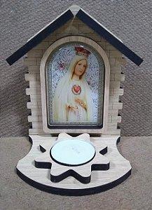 Luminária presépio - Nossa Senhora de Fátima (8164)