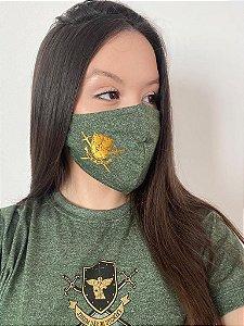 Mascara de Proteção facial - Verde