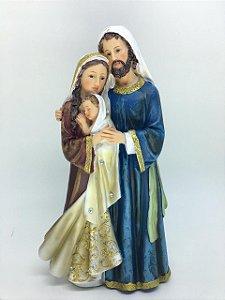 Sagrada Família 30cm com strass (8008)