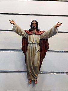 Cristo Ressuscitado parede 30cm (8199)